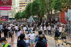 Ngày đầu áp luật an ninh mới, Hong Kong bắt giữ 370 người