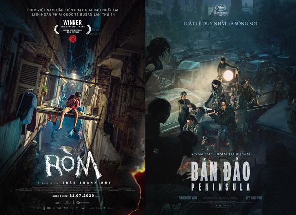 Các phim chiếu rạp tháng 7