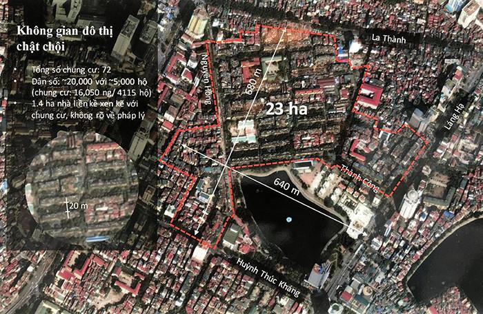 Sau đề xuất lấp hồ Thành Công, nhà đầu tư muốn dùng đất chợ xây chung cư