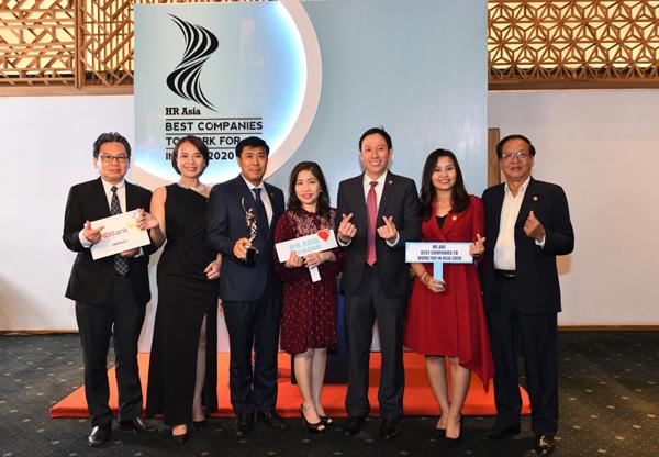 HDBank được vinh danh nơi làm việc tốt nhất châu Á