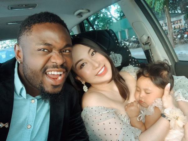 Nigerian man finds internet fame and happy family in Vietnam