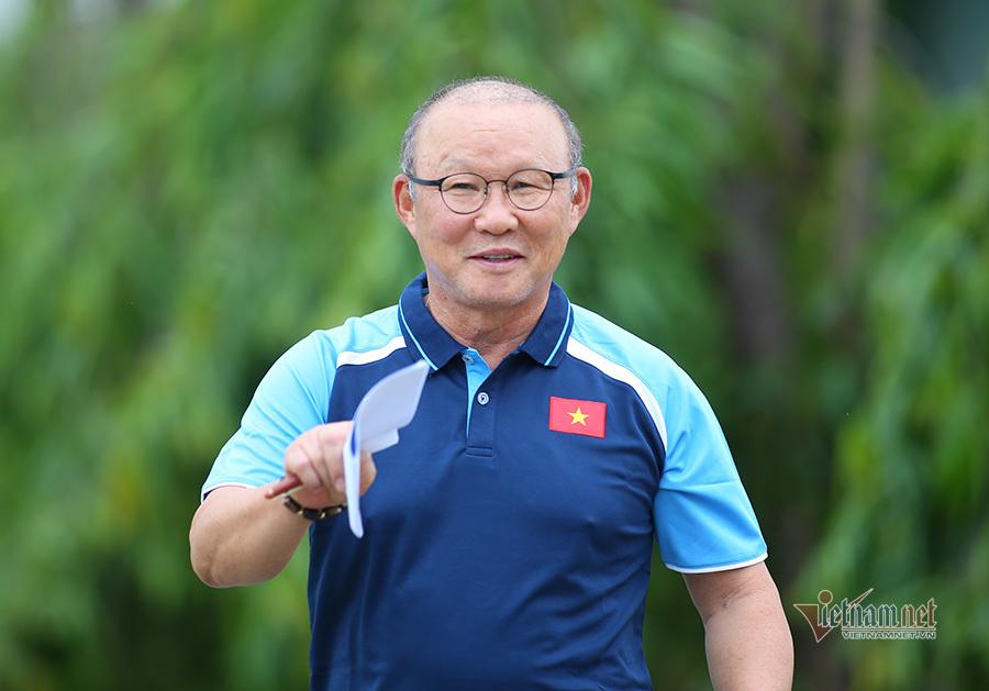 HLV Park Hang Seo: 'Dốc toàn lực cho giấc mơ World Cup'