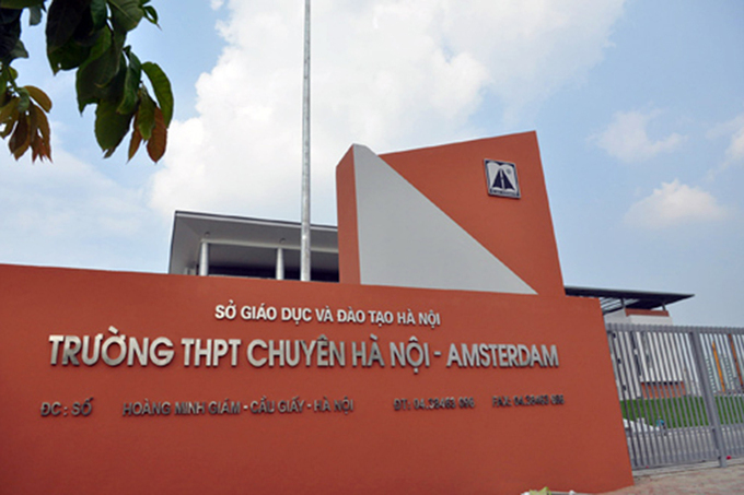 school for the gifted,Hanoi-Amsterdam High School for the Gifted,general education,Vietnam education