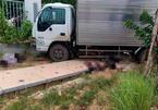 Hai người đi xe máy chết tại chỗ sau va chạm với xe tải ở Vĩnh Phúc