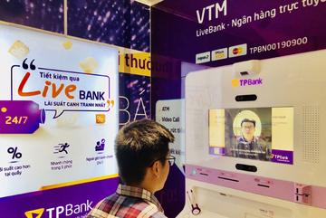Ngân hàng Việt đầu tiên cho rút tiền bằng nhận diện khuôn mặt