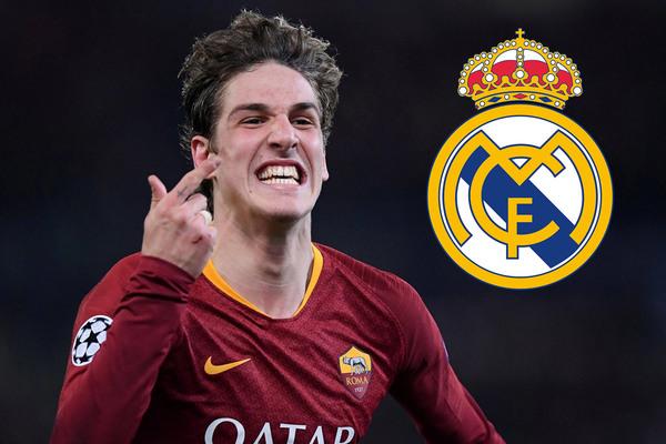 """Real Madrid chi đậm mua """"Totti mới"""" Zaniolo"""