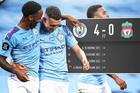 """Man City """"vùi dập"""" nhà tân vô địch Liverpool"""