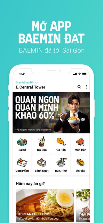 Ứng dụng giao đồ ăn Hàn chinh phục thực khách Hà Nội