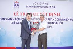 Việt Nam có thêm bệnh viện ung bướu tuyến cuối