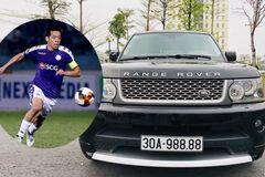 Cầu thủ Văn Quyết tậu Range Rover cũ giá 2 tỷ