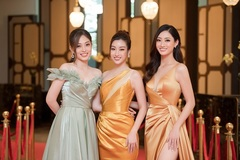 Lương Thùy Linh, Đỗ Mỹ Linh, Phương Nga cuốn hút với đầm dạ hội gợi cảm