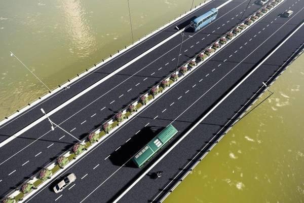 Thiết kế cầu Vĩnh Tuy mới 2.500 tỷ bắc qua sông Hồng