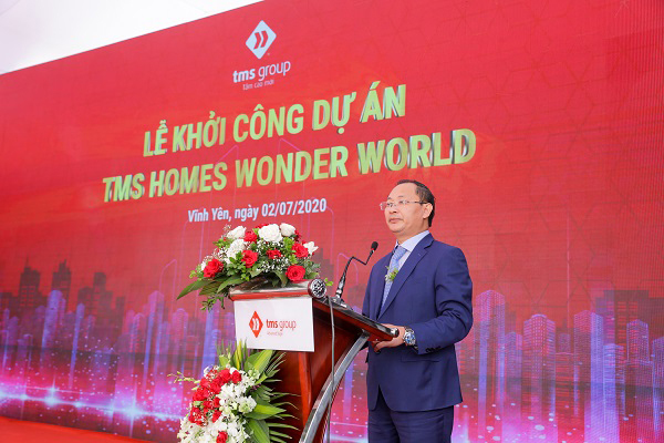 Khởi công đại đô thị TMS Homes Wonder World ở Vĩnh Yên
