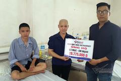 Goá phụ ung thư chăm con viêm màng phổi được bạn đọc ủng hộ