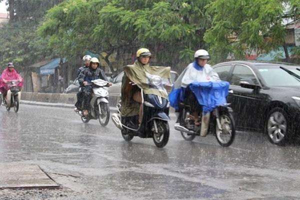Dự báo thời tiết 4/7, Hà Nội mưa giông