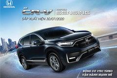 Phiên bản mới Honda CR-V 2020 sắp ra mắt thị trường Việt Nam