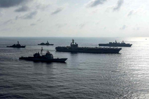 Mỹ điều tàu sân bay đến Biển Đông
