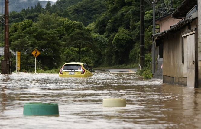 Tens of thousands of Japanese have been evacuated due to floods