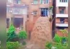 Những thước phim chân thực về lũ lụt khủng khiếp ở Trung Quốc