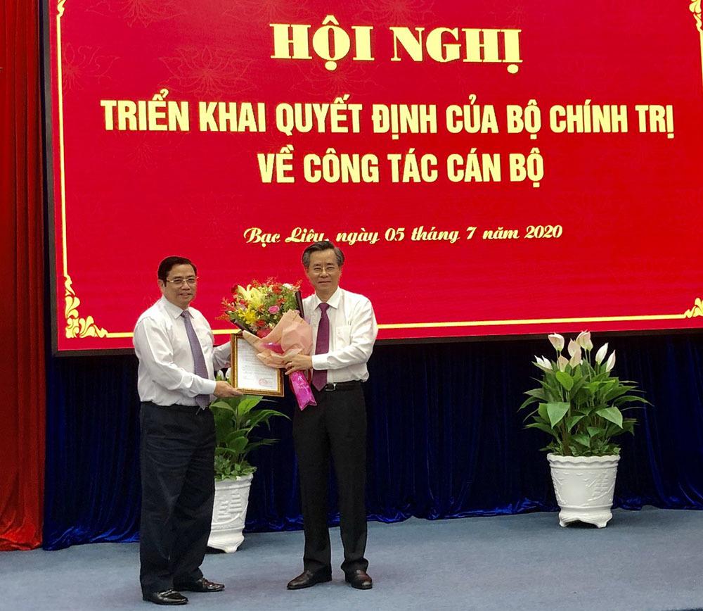 Ông Nguyễn Quang Dương làm Phó Trưởng ban Tổ chức Trung ương