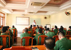 Training session on VN's sea and islands and Vietnam Coast Guard Law for reserve soldiers of Ba Dinh district