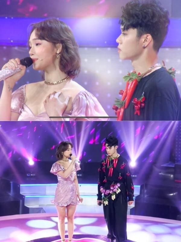 Miu Lê bất ngờ được La Thành tỏ tình trên sóng truyền hình
