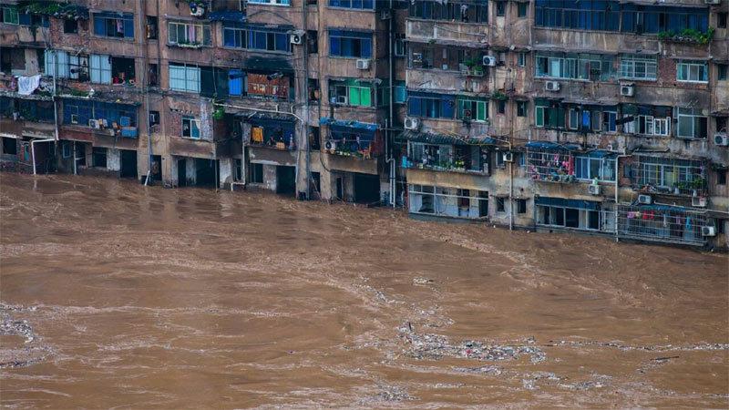 Lũ chồng lên lũ, kinh tế Trung Quốc mất trắng 'núi tiền'