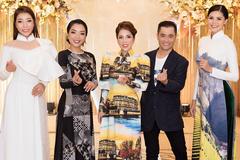 Người đẹp Việt nền nã trong tà áo dài