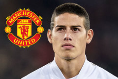MU ký James Rodriguez, Milan mượn Bailly