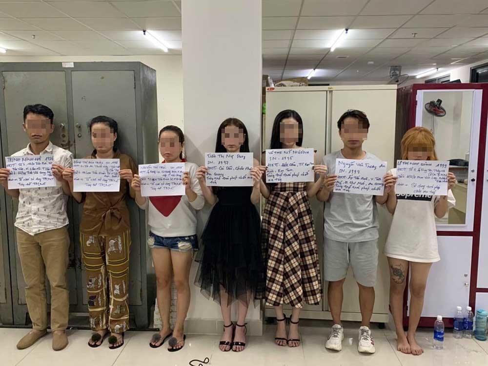 Nam nữ Sài Gòn thuê căn hộ cao cấp thác loạn ma túy