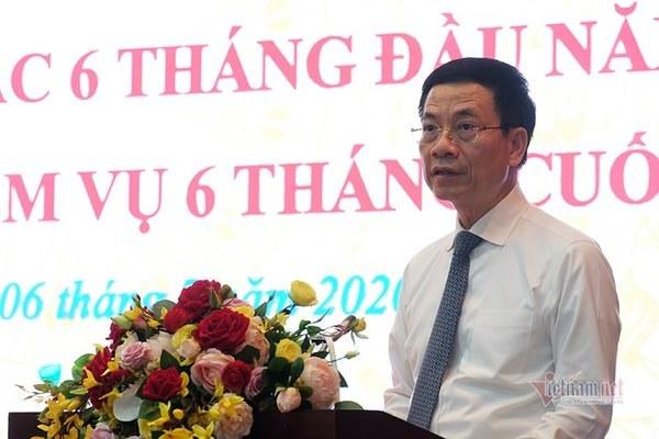 Toàn văn phát biểu của Bộ trưởng Nguyễn Mạnh Hùng tại hội nghị sơ kết ngành TT&TT 6 tháng đầu năm 2020