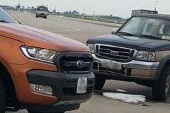 Xe bán tải đâm tử vong nhân viên vệ sinh trong sân bay Nội Bài