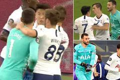 """Đội trưởng Tottenham """"nổi đóa"""", gây hấn Son Heung-min"""
