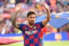 Messi đóng góp tới hơn 10% trong 9.000 bàn thắng của Barca
