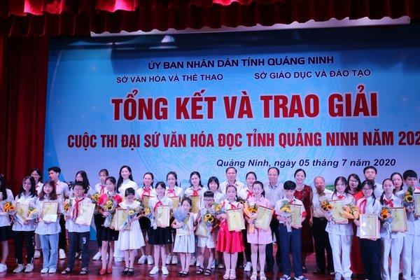 Trao 33 giải thưởng cho đại sứ văn hoá đọc Quảng Ninh