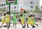 School sports tournaments in HCM City, 3x3 hoops in Hanoi