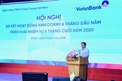 6 tháng đầu năm 2020, dư nợ tín dụng tại VietinBank tăng 4,5 nghìn tỷ đồng