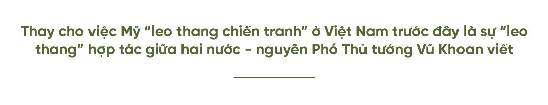 quan hệ Việt - Mỹ,Vũ Khoan