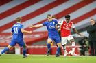 Arsenal 1-0 Leicester: Aubameyang lập đại công (H1)