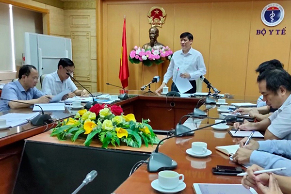 63 ca mắc bạch hầu, quyền Bộ trưởng Y tế họp khẩn