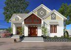 Những mẫu nhà cấp 4 đẹp ở nông thôn giá rẻ, chi phí thấp hoàn toàn có thể xây được