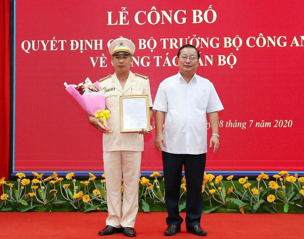Thượng tá Huỳnh Hoài Hận làm Phó Giám đốc Công an Sóc Trăng