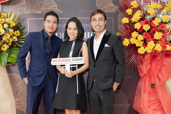 3 người đẹp Việt cùng diện sắc hồng dự khai trương An Duong Home