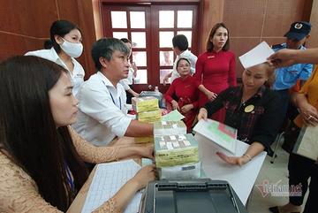 Bao nhiêu hộ dân đã nhận tiền bồi thường dự án Sân bay Quốc tế Long Thành?