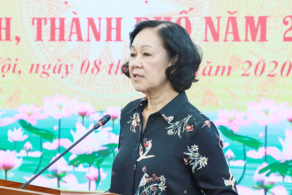 Bộ Chính trị đề nghị dừng thí điểm Trưởng ban Dân vận kiêm Chủ tịch Mặt trận