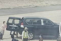 Xe đưa đón lãnh đạo trong sân bay được quy định thế nào?