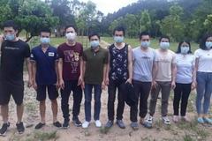 Bắt 9 người về từ Trung Quốc, nhập cảnh trái phép vào Việt Nam