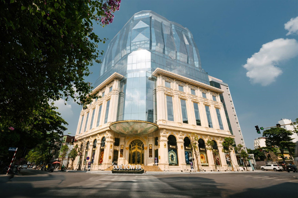 'Viên kim cương' của kiến trúc đô thị hiện đại