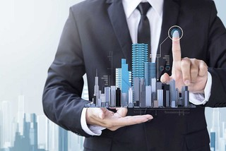 Real estate firms with the largest capitalization value in stock market