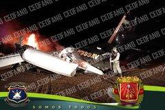 Không quân Venezuela bắn hạ máy bay mang số hiệu Mỹ
